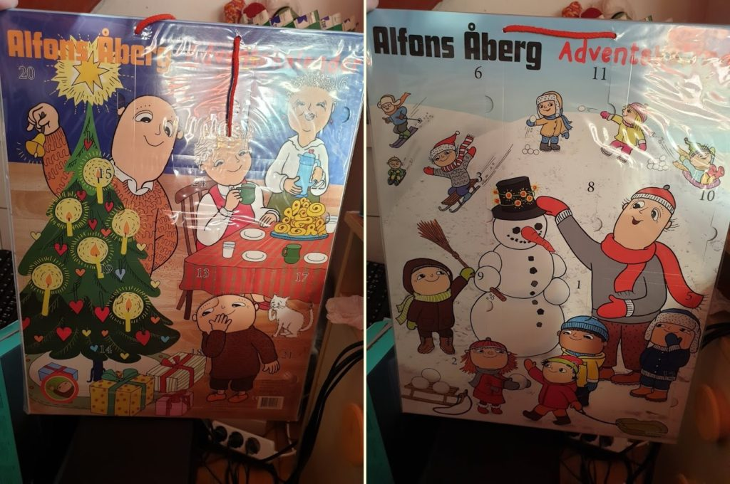 Alfons Åbergs julkalender